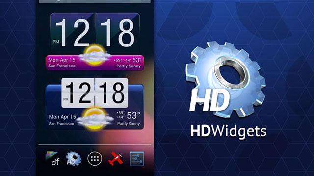 חדשות Hd: ווידג'ט שעון/מזג אוויר