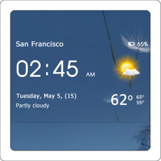 Transparent-clock-weather-Icon