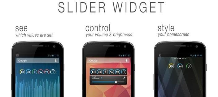 Slider Widget_Volumes-androappinfo