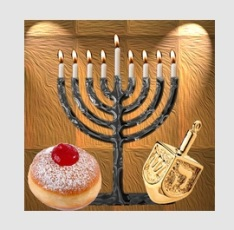 Hanukkah Holiday HD Wallpaper-logo