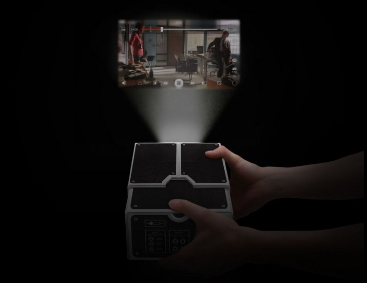 Cardboard Smartphone Projector1