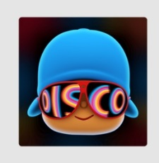 Pocoyo Disco-logo